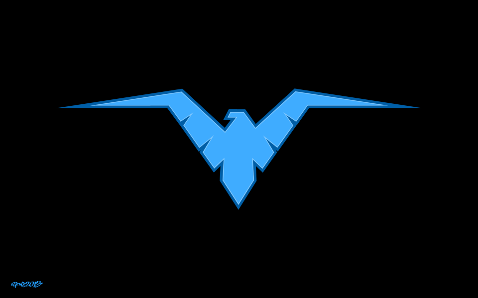 Nightwing - Logo Vector by elclon on deviantART ...
