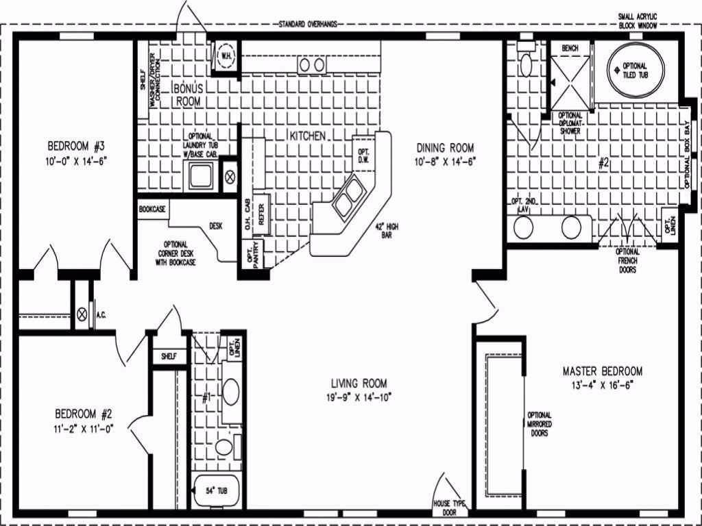 1300 Sq Ft House Plans 1500 Sq Ft House Plans India in ...