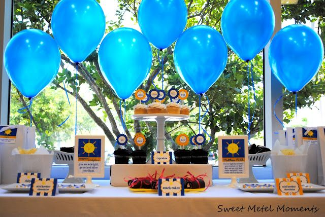 Outdoor Graduation Party Decorating Ideas | Graduation Party Themes