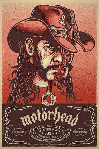 Motörhead - Lemmy - Lars P. Krause 2014 - http://www.douze.de