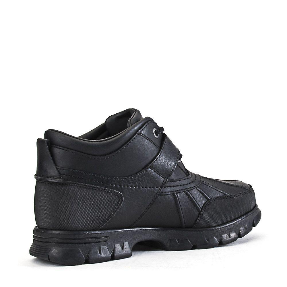 8d65610650 Polo Ralph Lauren Men's Casual Boot Dover Iii Black in 2019 | Shoes ...