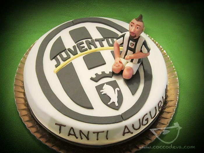 juventus cake and vidal!   cakes & more   pinterest   cake and man ... - Decorazioni Torte Juventus
