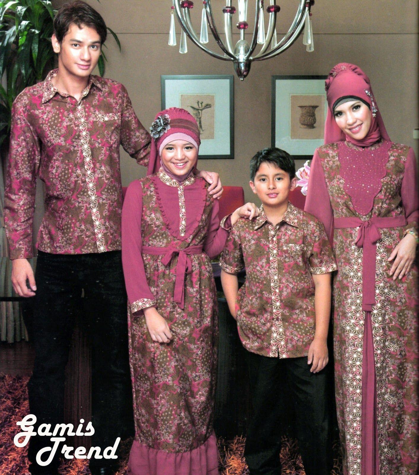 Model Baju Gamis Batik Anak Remaja Perempuan  Baju muslim, Wanita