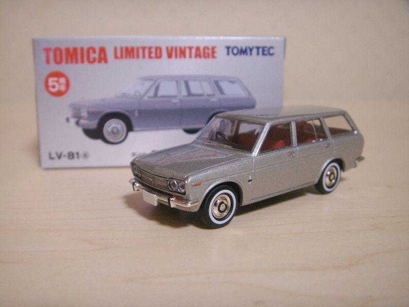 tomica limited vintage datsun 510 wagon   datsun dreams ...