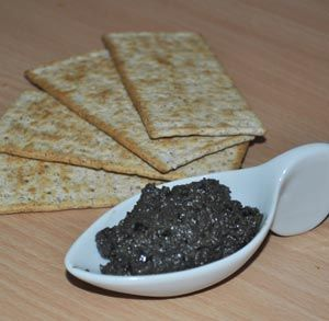 receta de cocina tapenade de aceitunas negras