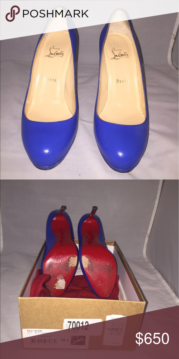 Authentic Christian Louboutin Shoes Slightly used Christian Louboutin Shoes  Platforms 6e6fc597d