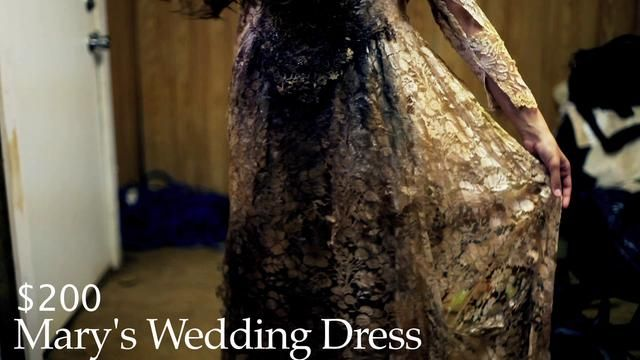 Marys Wedding Dress, Pea Vomit Gown and Dead Night Gown available at http://costumedepartment.tumblr.com/womens