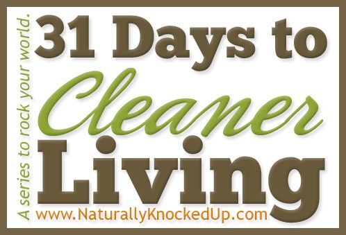 How to Clean Your Face Naturally {31 days to cleaner living}