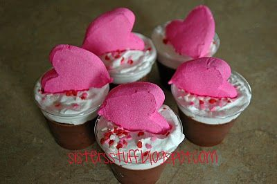 sweet little pudding cups