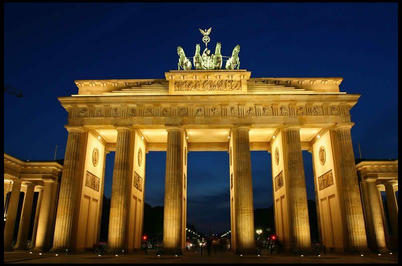 Poarta Brandenburg Berlin Brandenburg Gate Germany Berlin Germany