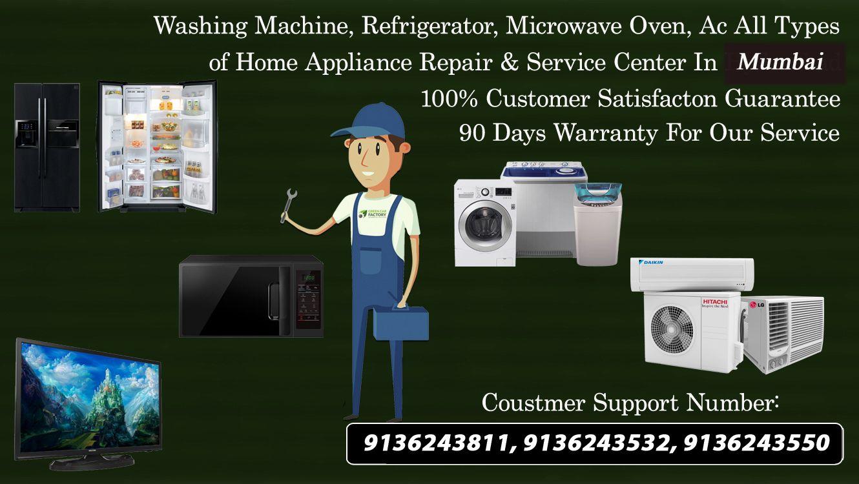 Whirlpool Refrigerator Service Center in Jogeshwari in