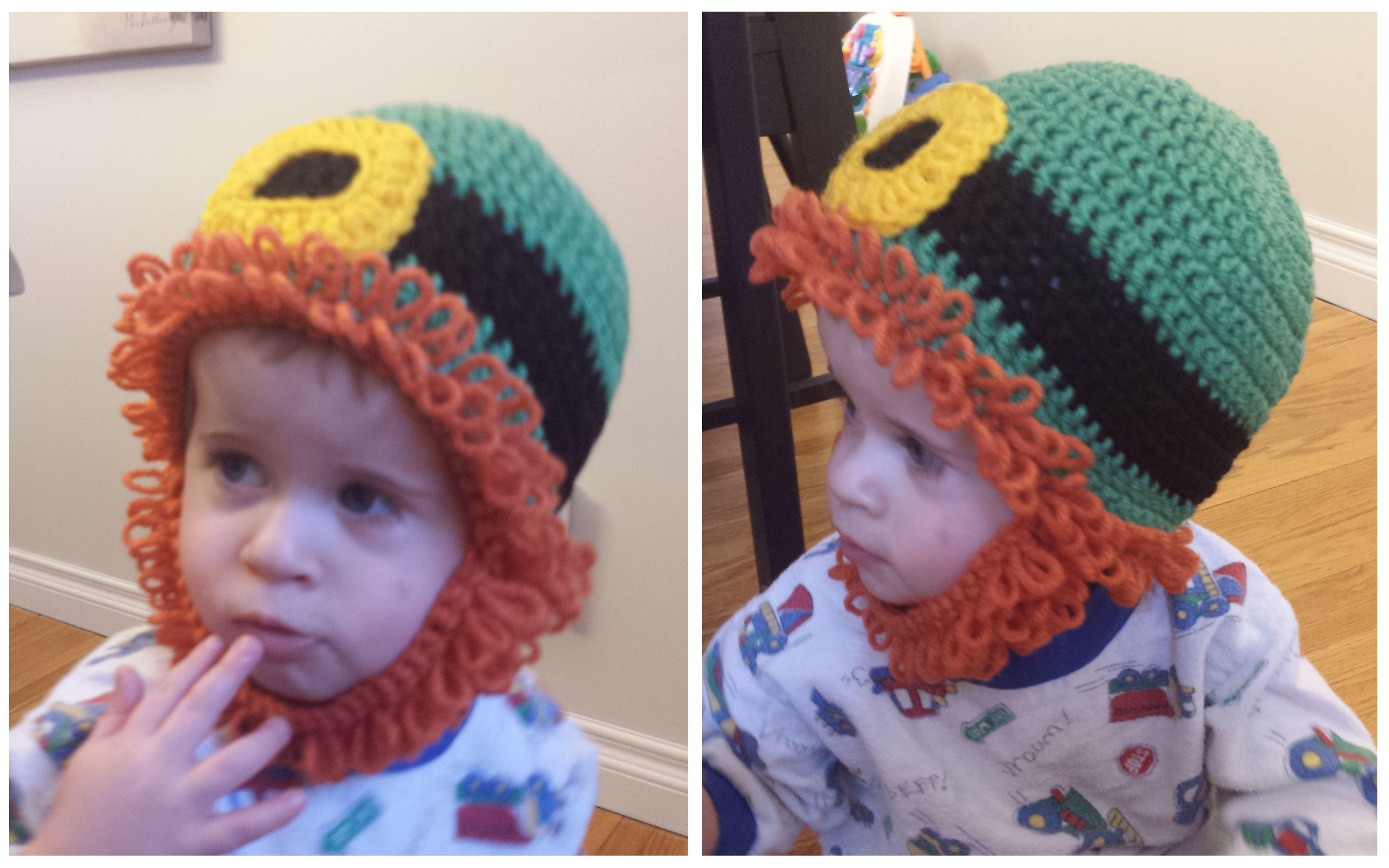 Free Amigurumi Leprechaun Pattern : St. patrick's day leprechaun hat with chin strap beard free pattern