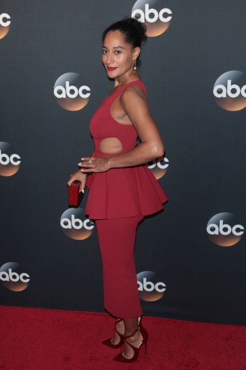 b7c2cfa3a2a4 Tracee Ellis Ross attends the ABC Upfront presentation on May 16 ...