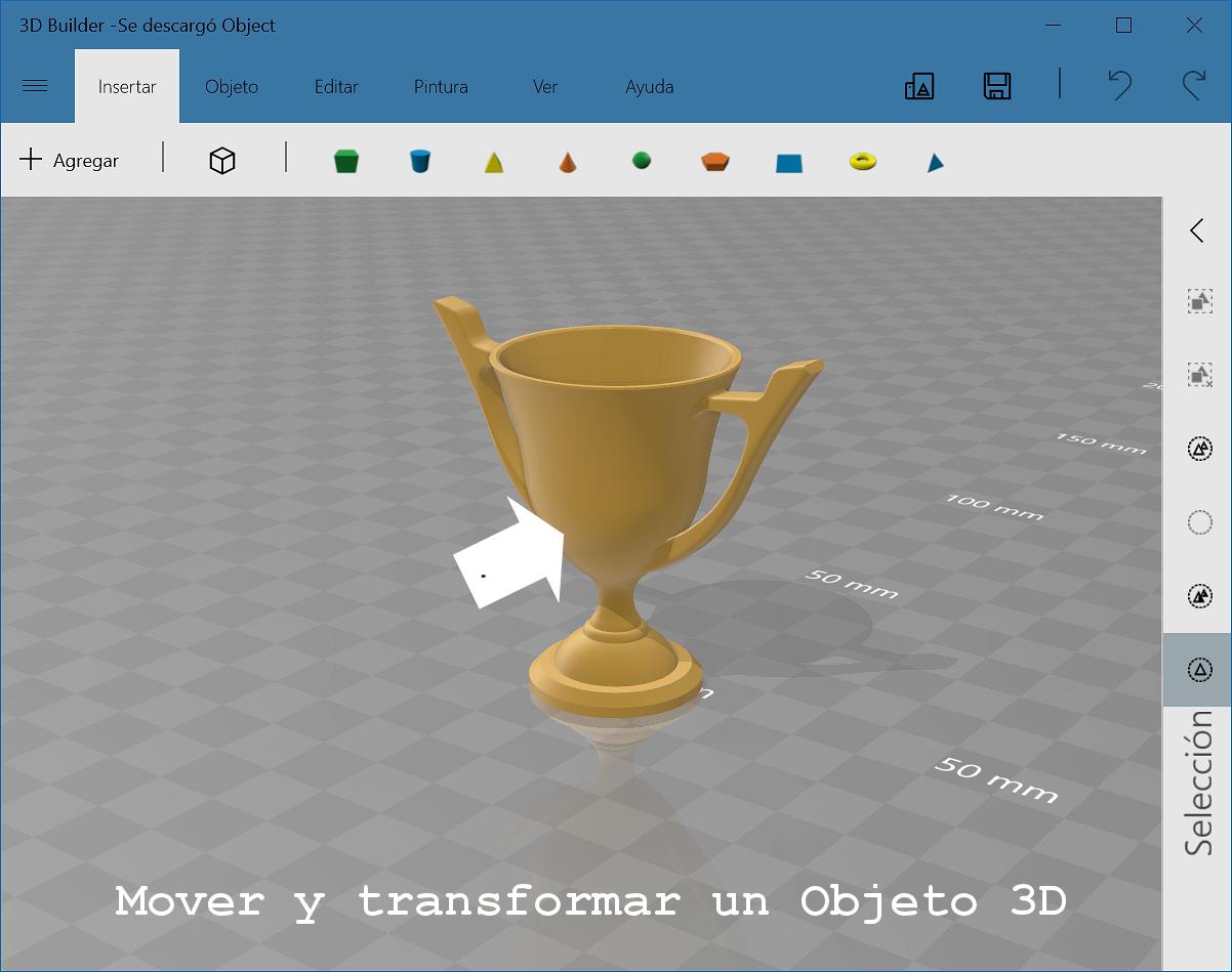 Transformar con 3D Builder