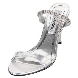 b45471f48 Lasonia Women's Champagne Rhinestone Heels | Overstock.com | My ...