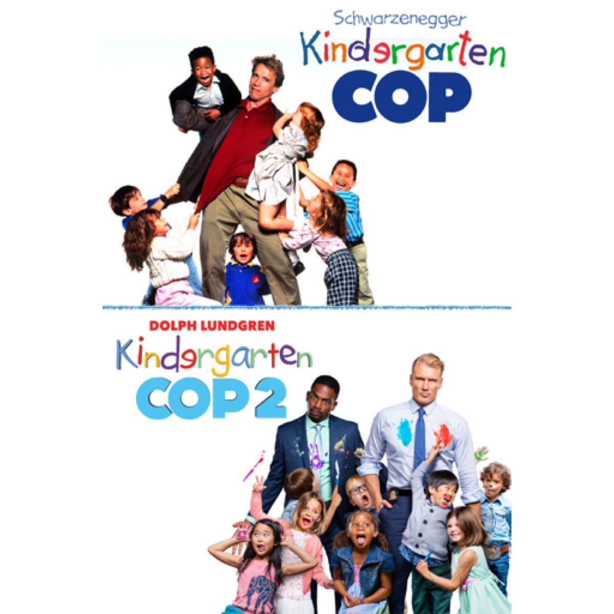 Kindergarten Cop Double Feature 67 Off 9 99 Comedy