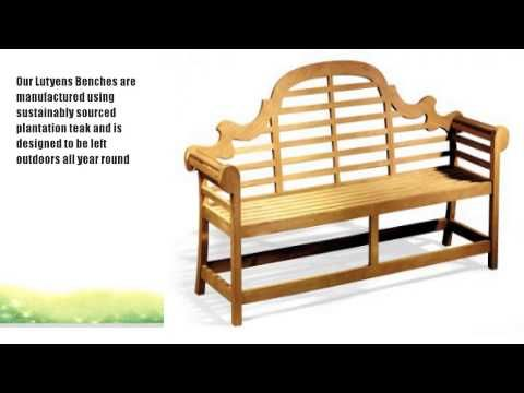 Be Inspired And Choose This Stylish Lutyens Garden Bench With The  Guaranteed Comfort Of Style And Quality At Unbeatable Prices.
