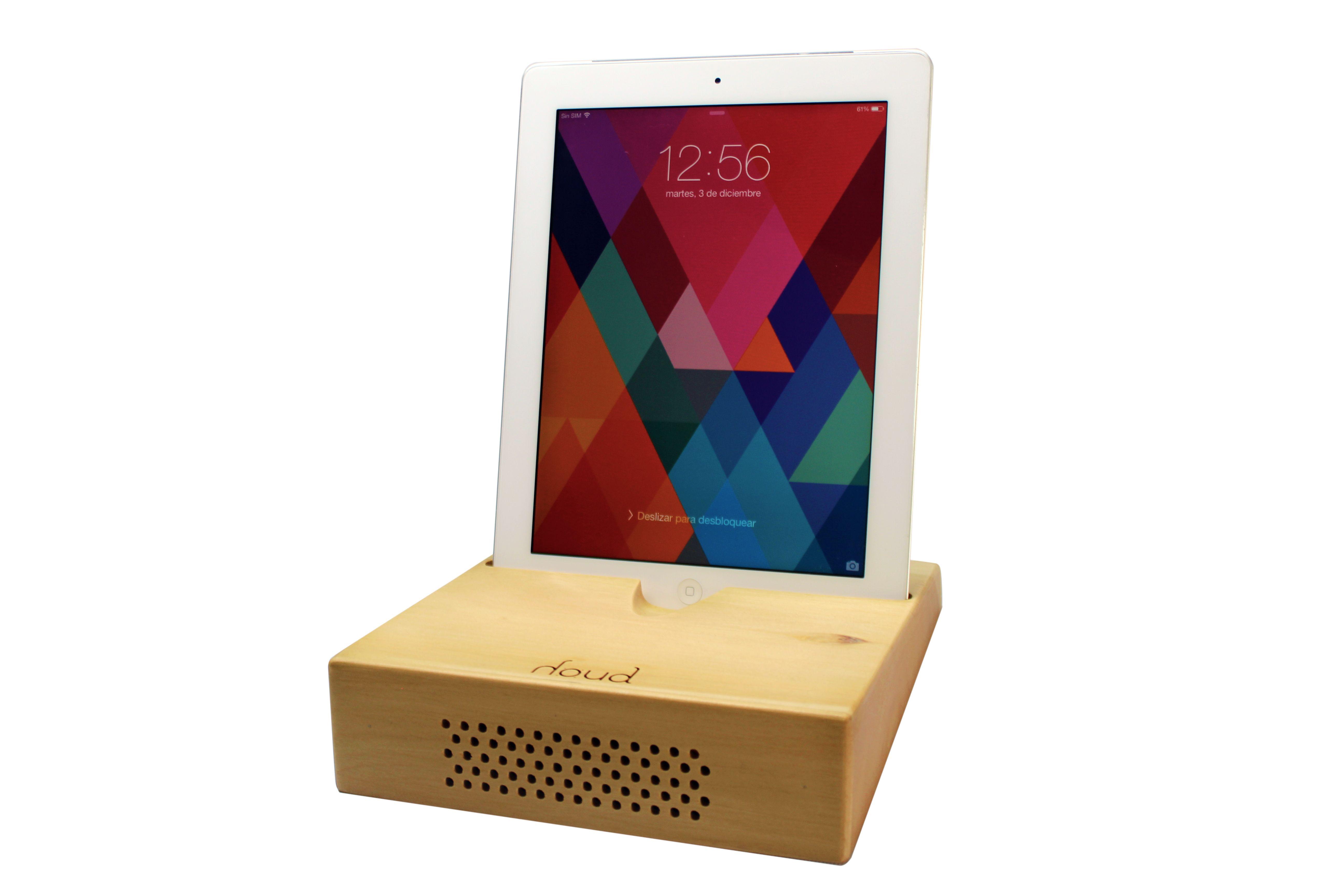 #ipad #speaker #wood #amplifier #sound