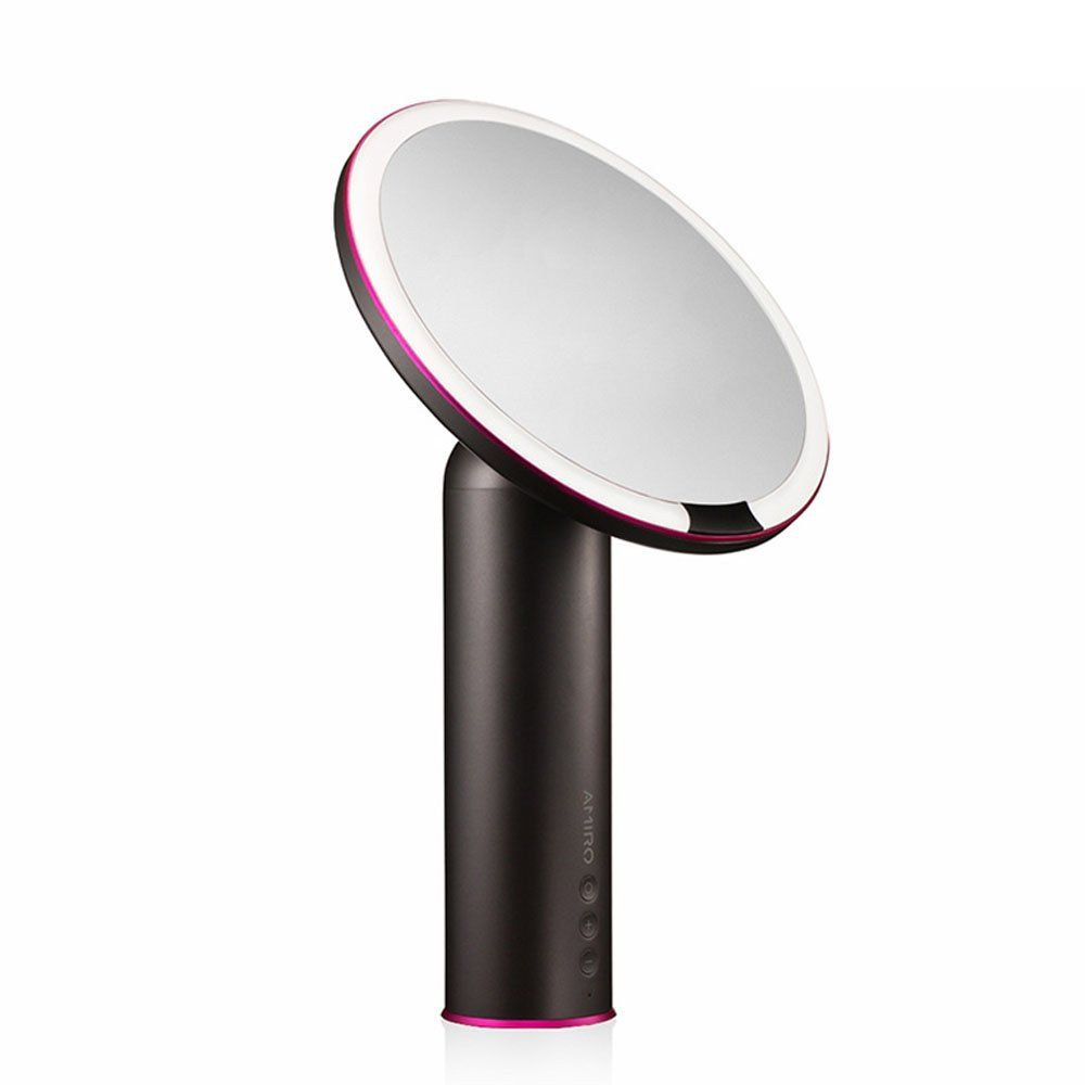 Amiro Smart Lighted Makeup Mirror With Natural Daylight Led Lights Motion Sensor Adjustable Brightness Rechargeable And Cordless High Definition Countertop Makeup Mirror With Lights Makeup Mirror Light Makeup