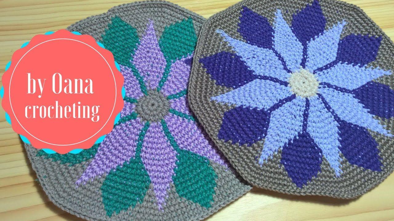 Tapestry crochet 1 | VİDEOLAR | Pinterest | Mochilas, Mochilas wayuu ...
