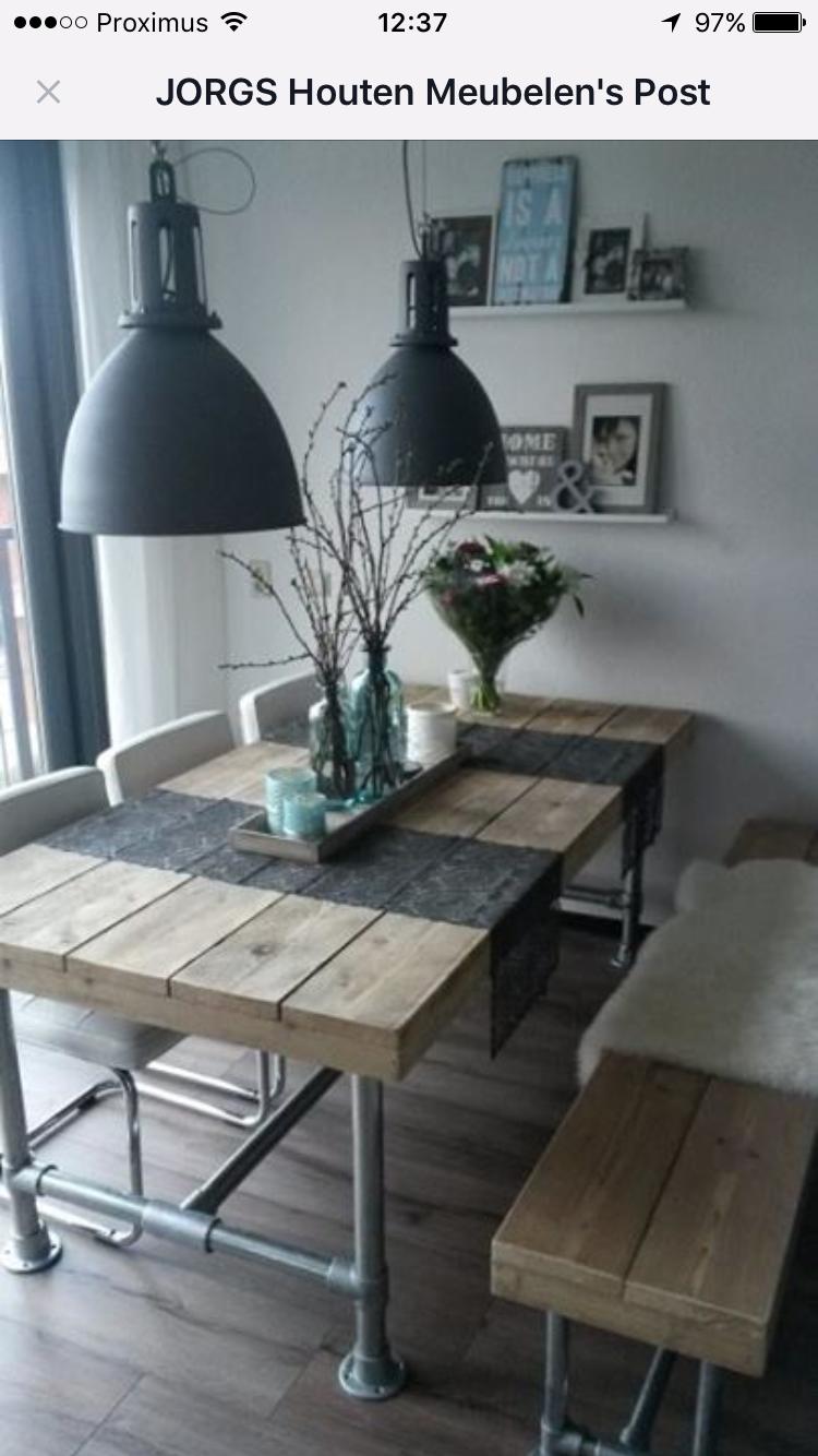 Pin de Shannon Huebner en Home is where the heart is | Pinterest | Mesas