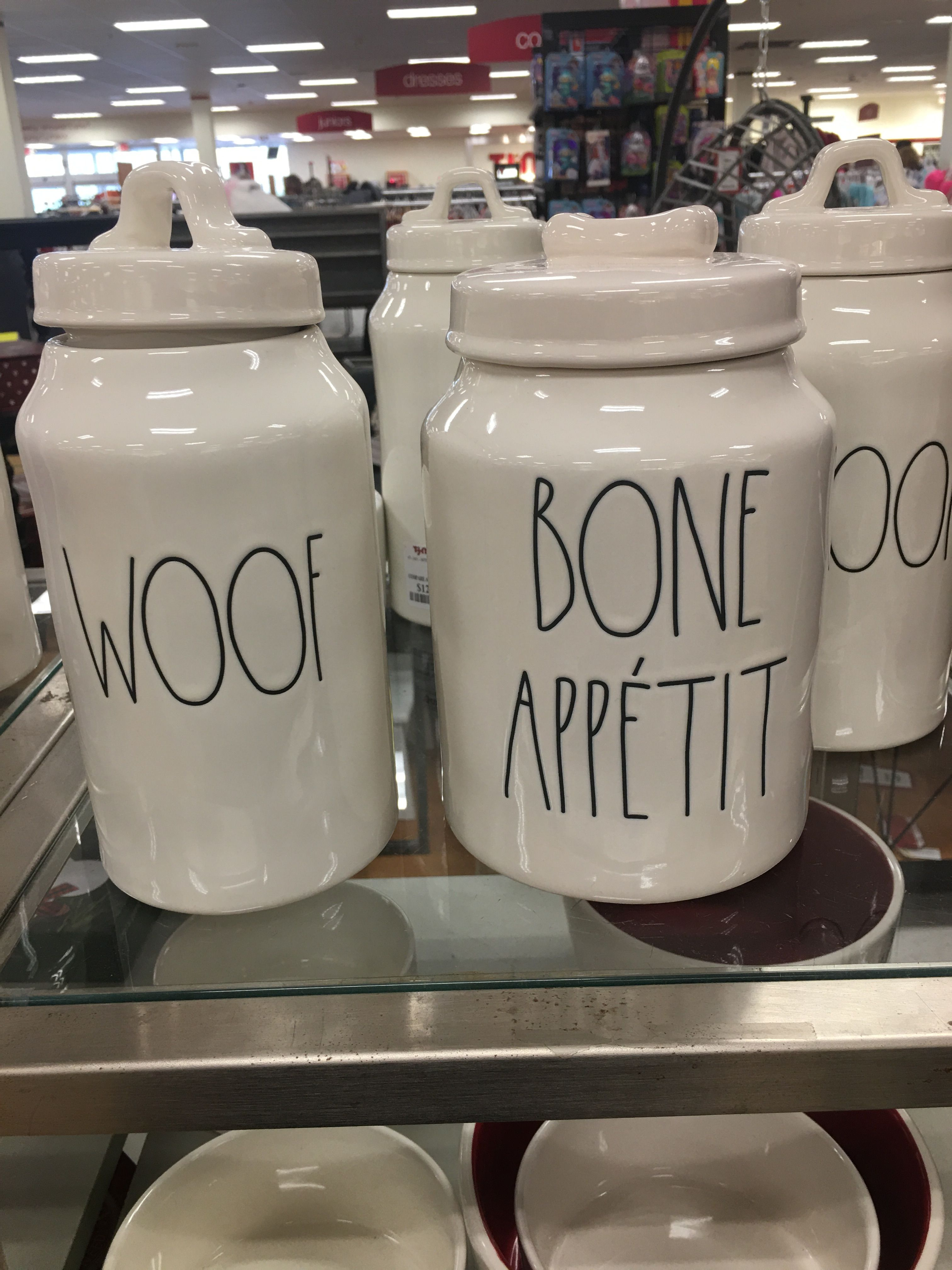 Tj Maxx Rae Dunn Dog Treat Jar Or Any Dog Treat Jar Treat Jars Jar