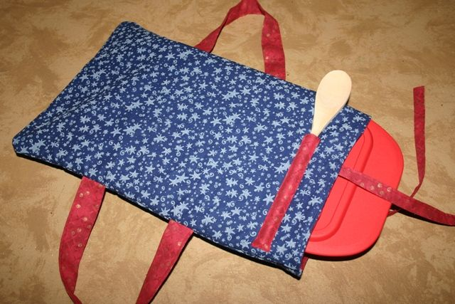 Fabric Casserole Carriers And A Tutorial