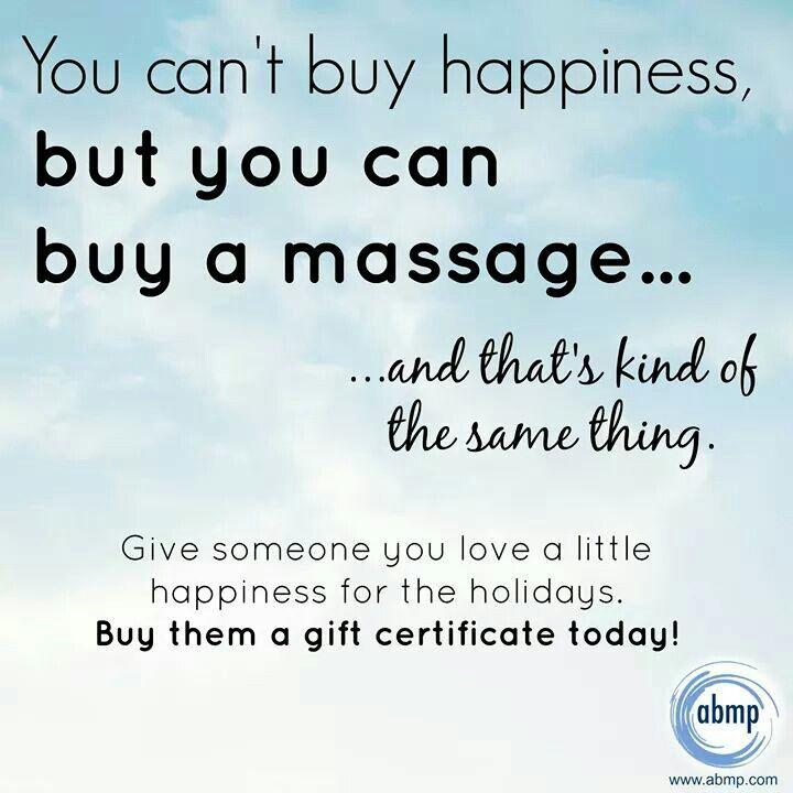 Massage gift certificate ad | Massage | Pinterest