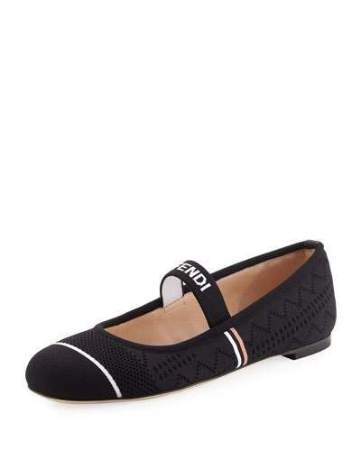 87ae45222d576 Fendi Marie Antoinette Ballet Flat | Products | Women's loafer flats ...