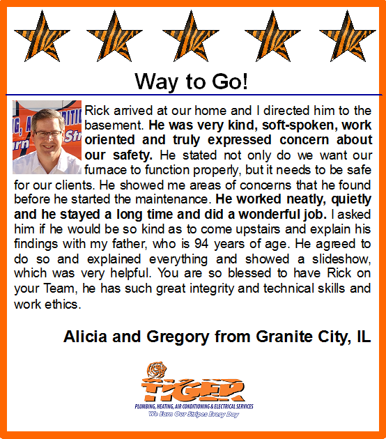 Way To Go Rick Five Star Friday Heating And Air Conditioning