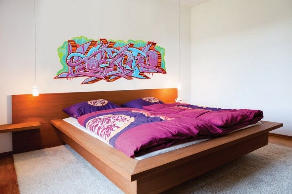 18 GORGEOUS GRAFFITI WALL INTERIOR INSPIRATIONS