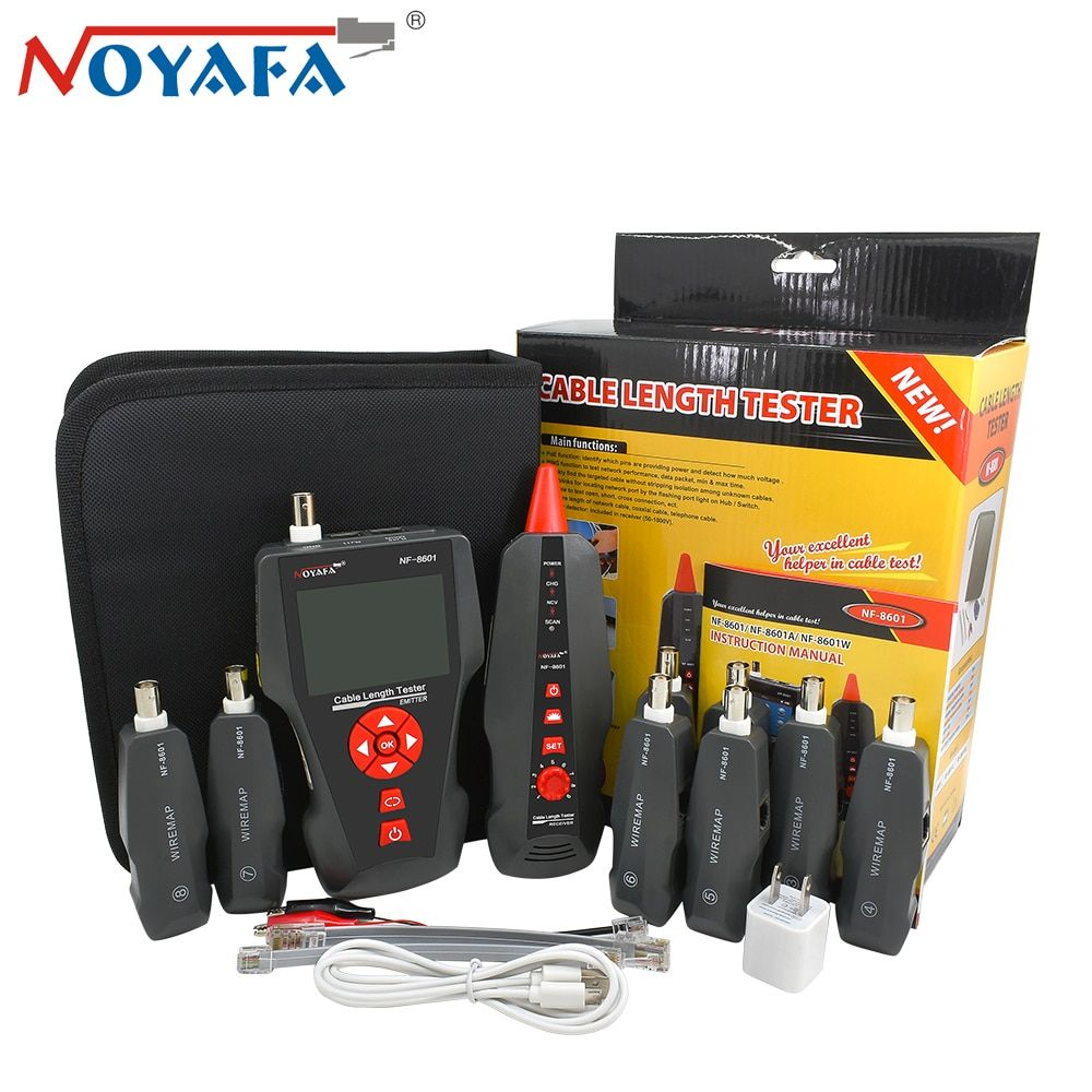 Original Noyafa NF8601W RJ45 LAN Network Cable Tester for