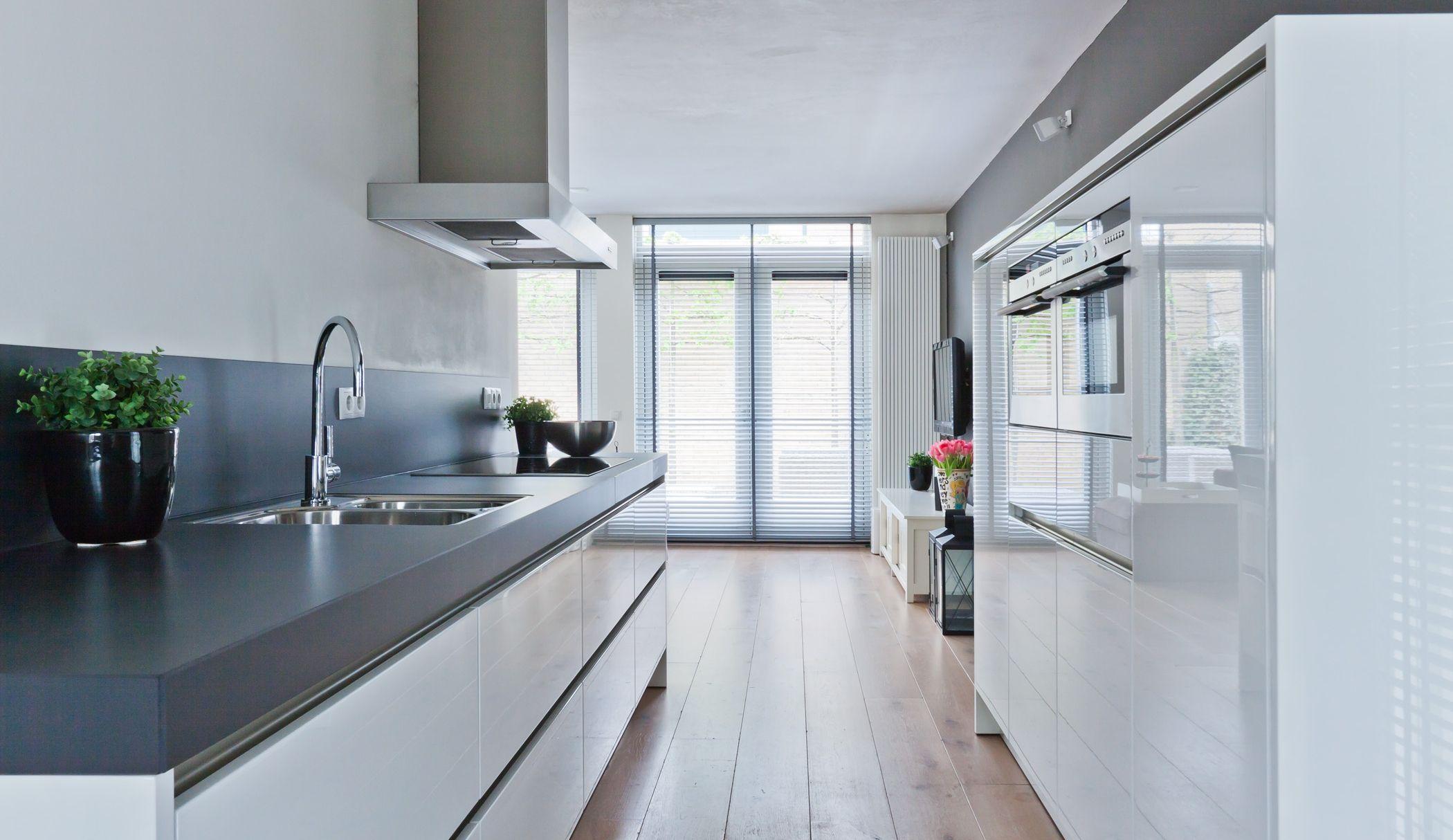 Aanrechtblad keuken pinterest kitchens high gloss and interiors