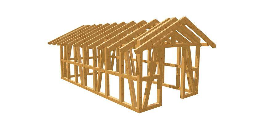 Gartenhaus günstig selber bauen in 2020 Gartenhaus