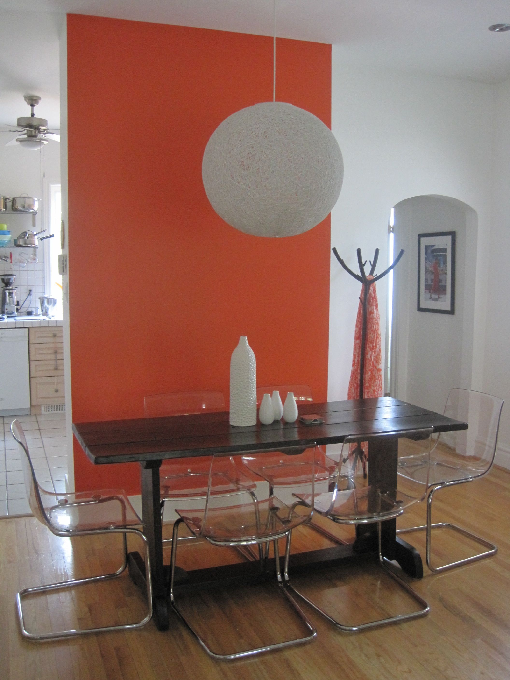 {Statement Wall  Orange}My Son, Before He Moved Out, Chose