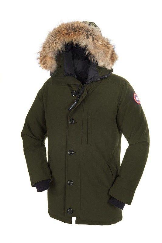 Doudoune Canada Goose Chateau Vert Homme  c0238b645131
