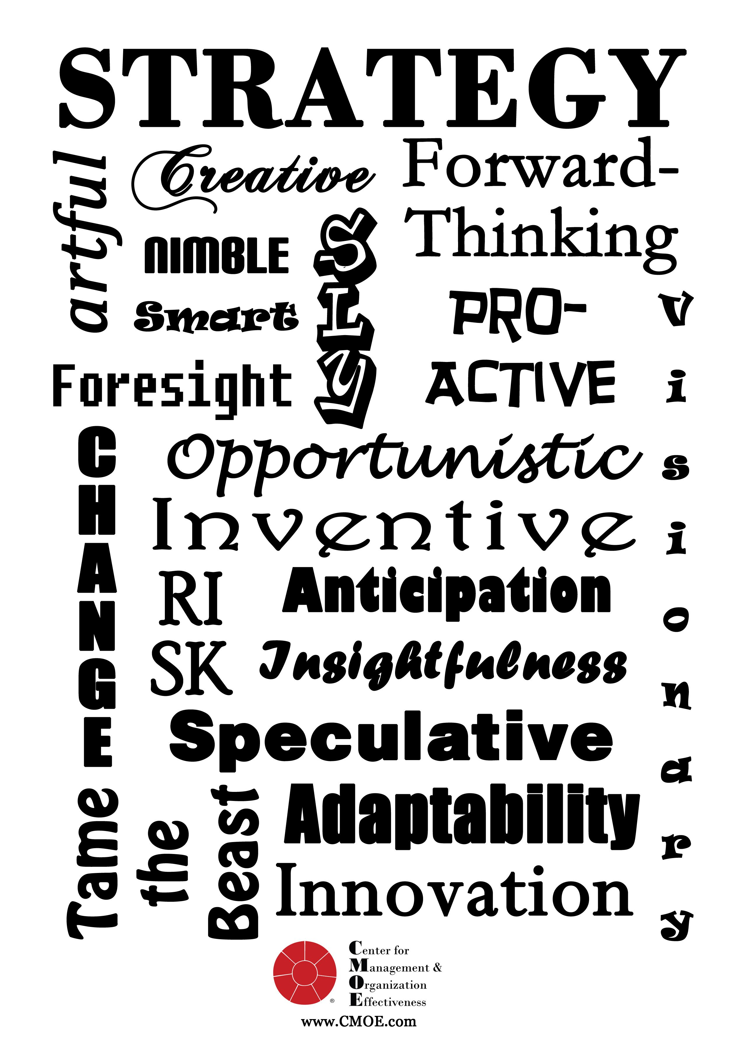 words that describe  u0026quot strategy u0026quot