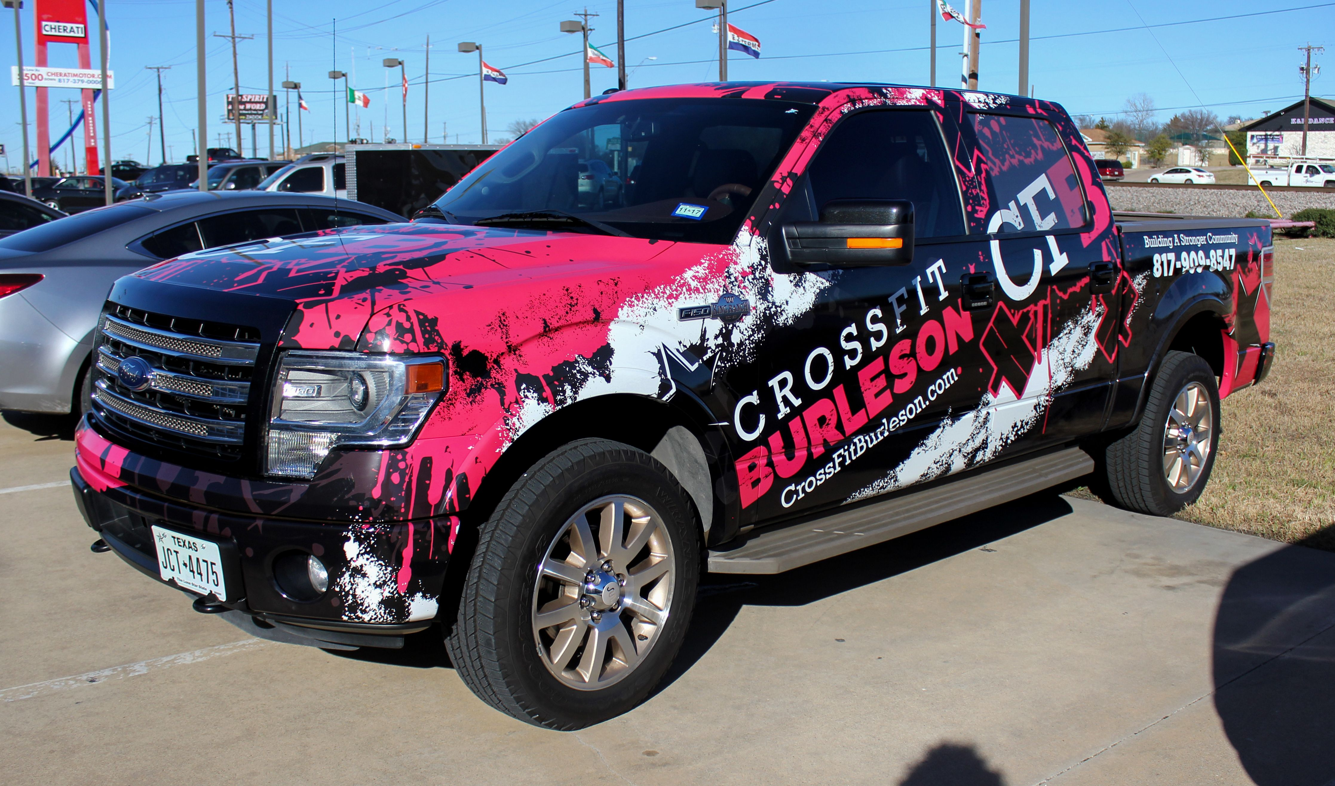 Crossfit Truck Wrap Commercial Vehicle Trucks Car Wrap [ 2630 x 4469 Pixel ]