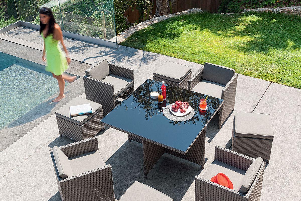 Ensemble table fauteuils Mayotte - HESPERIDE.fr   Jardin ...