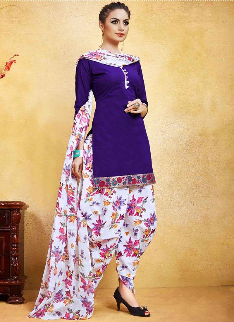 406da724a1 Buy Artistic Print Work Punjabi Suit #punjabisuit #salwarkameez  #patialasuit #punjabifashion #fashionable #fashionista