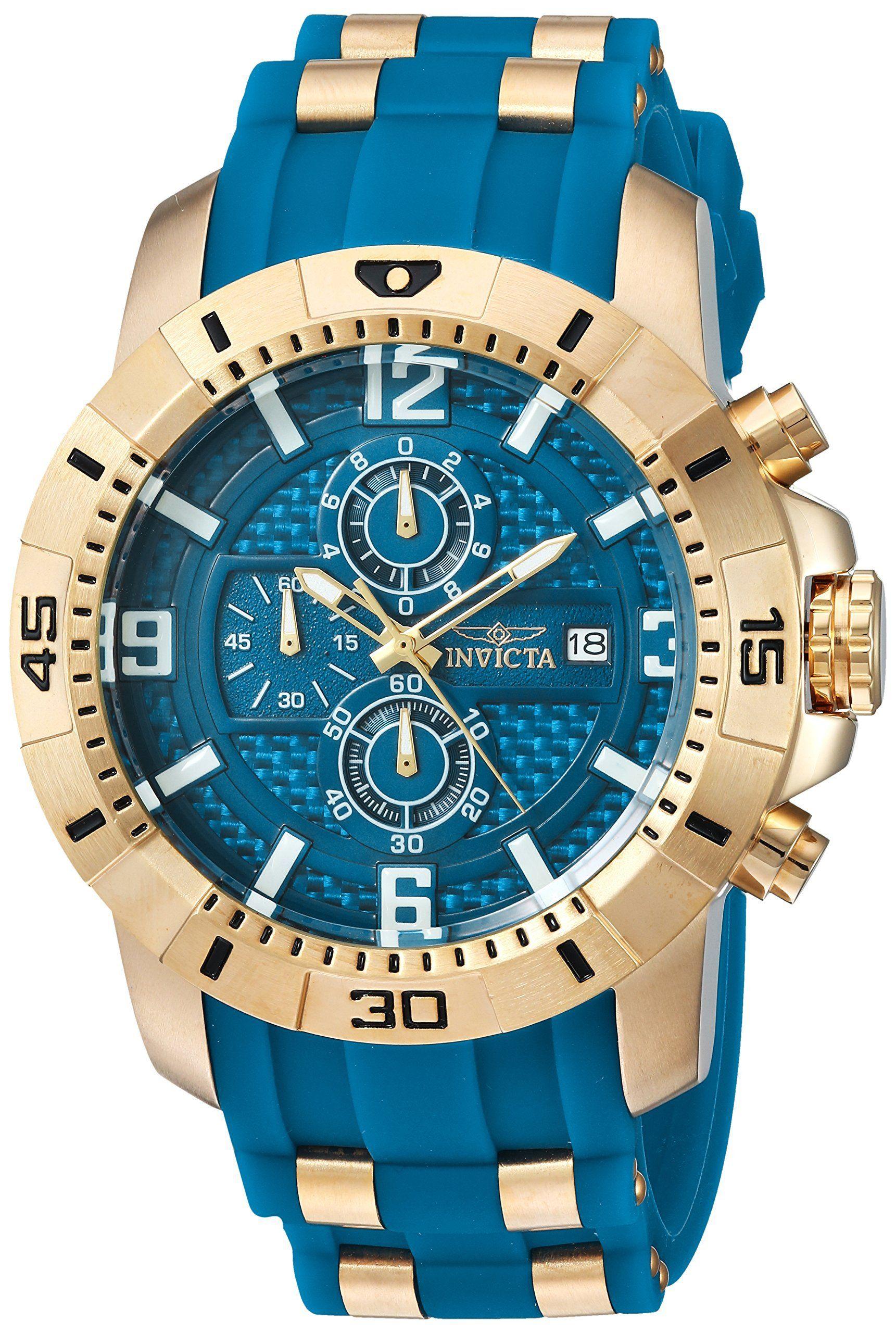 88f32d773d8 Relógio Invicta Pro Diver 25856 Original Prata C  Preto - LEVA E TRAZ MUNDO  DIGITAL