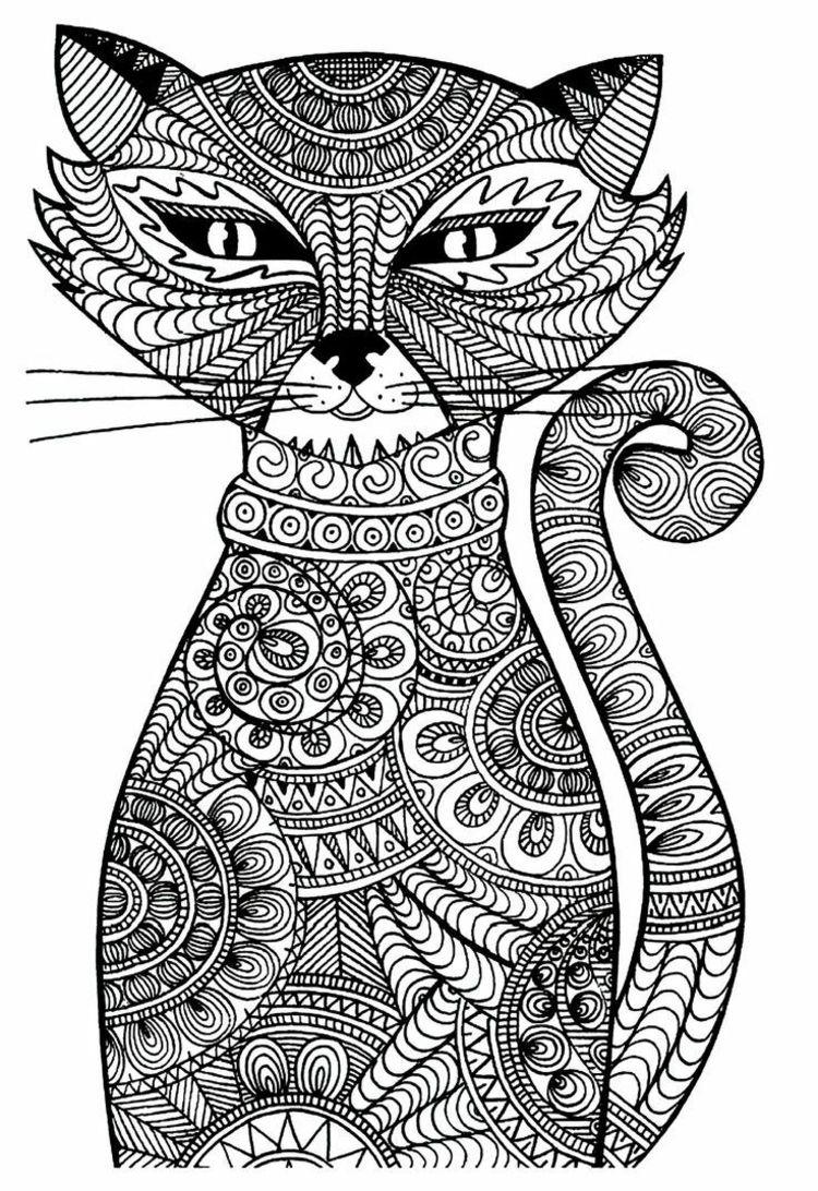 Zentangle Vorlagen Gratis Ausdrucken Zum Ausmalen Selberzeichnen Aveczentangle Buchstabenschab Ausmalbilder Katzen Ausmalbilder Ausmalbilder Zum Ausdrucken