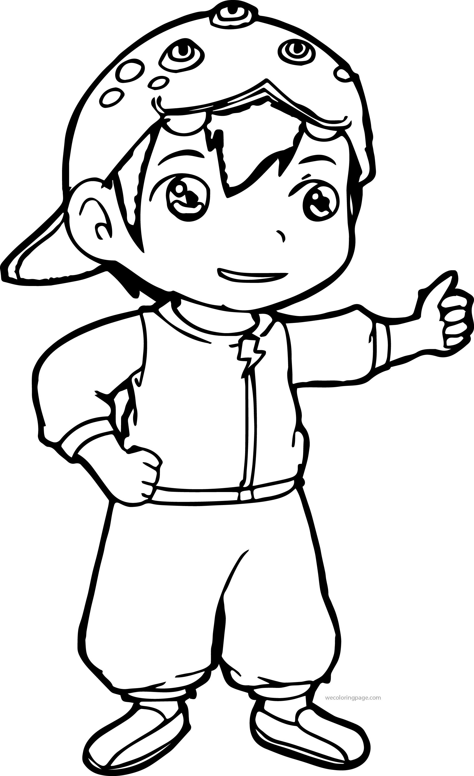 boboiboy coloring pages wecoloringpage pinterest