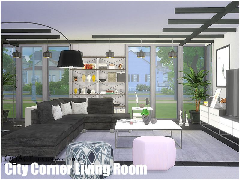 QoAct Design Workshop | 2016 Living Room Collection Found In TSR Category U0027Sims  4 Living