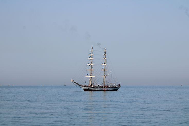 Fryderyck Chopin frente al puerto deportivo de Puerto Sherry