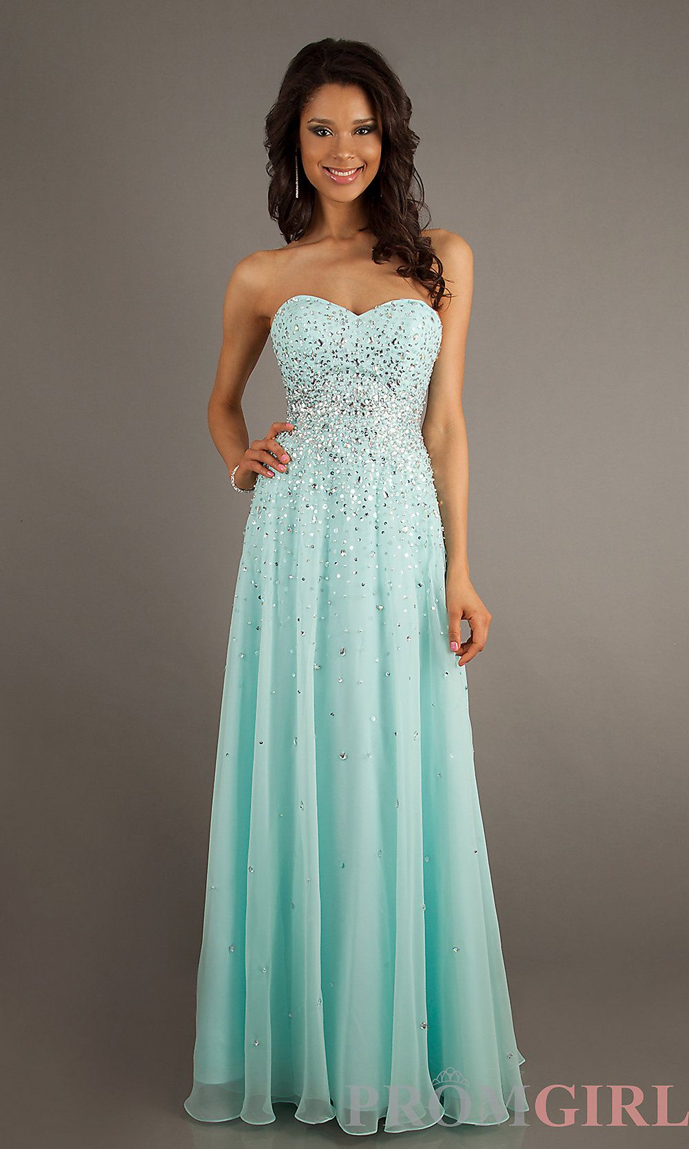 Strapless Prom Gown with Beading by Mori Lee 93087 | Strapless ...