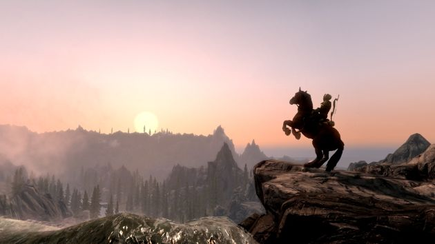 19-year-old job seeker spends 2,000 hours building Skyrim mod, creates a whole new landscape and storyline and wows Skyrim community.