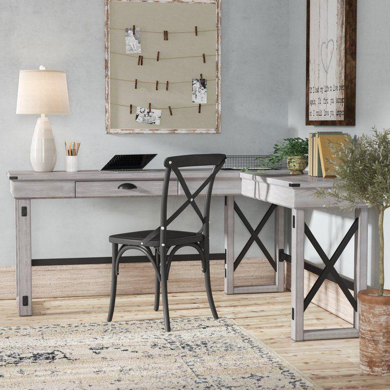 Gladstone LShape Desk Home office decor, L shaped desk