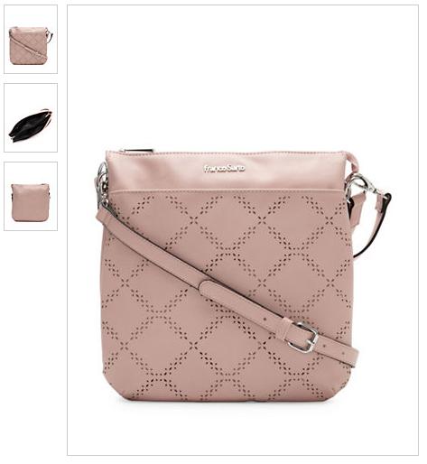 8c7565225a6a Hudson Bay Franco Sarto Geometric Pattern Convertible Crossbody Bag Small  Bags
