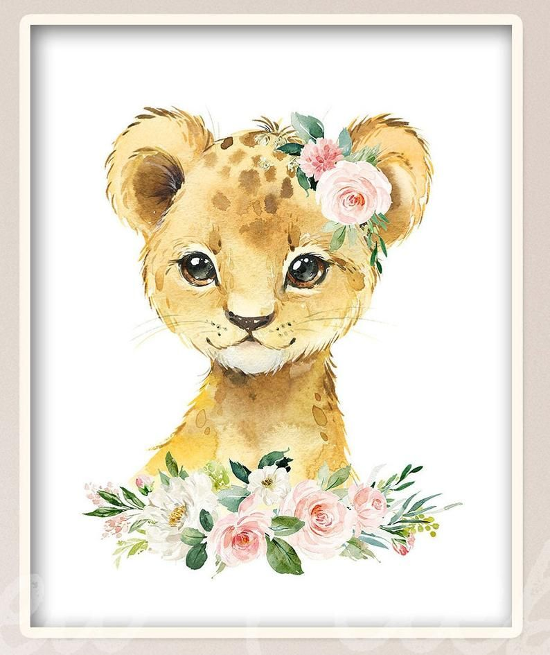 Monochrome Safari Animal Art  Set of 6 A4 Printable Safari Wall Art  Zoo Animals  Pink Bow Nursery D\u00e9cor  Baby Girl Nursery  Elephant